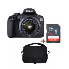 CANON EOS2000D EF S18-55IS bundle torbica+16GB (2728C029AA)