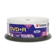 DVD+R MEDIJ VERBATIM 25PK CB (43500)