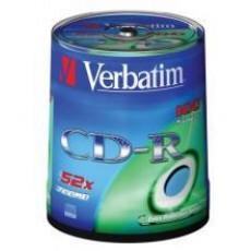 CD-R MEDIJ VERBATIM 100PK CB (43411)