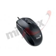 Miš GENIUS DX-110, USB, black, 1200dpi (31010116100)