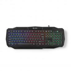 Nedis Ksanal Gaming tastarura USB/RGB osvjetljenje (GKBD100BKUS)
