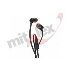 JBL SLUŠALICE T110 black in-ear